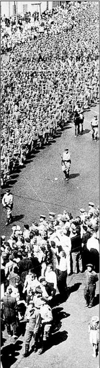 Kriegsgefangenenzug 1944, Moskau Fotos: Archiv